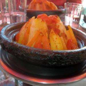 Une delicieuse tagine aux legumes