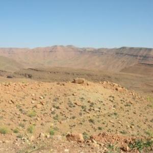 Paysage du Moyen Atlas
