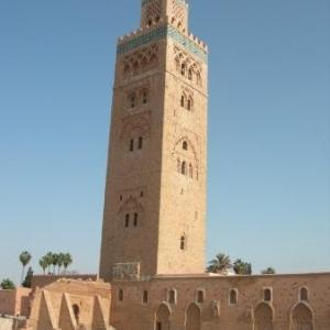 La mosquée Koutobia (77 m)