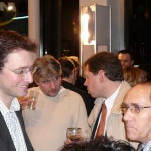 JP Bastin (Bourgmestre), Y. Barthélemy (Echevin), H. Crémers (Président CPAS)