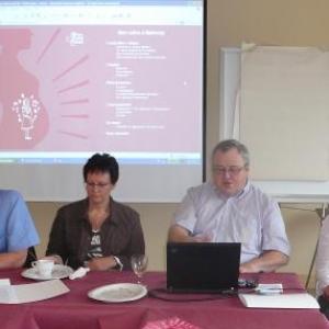 Dr Bleus, Mme Bragard, M. Lemaire, Dr Delbushaye