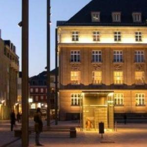 esch sur alzette - hotel de ville by night