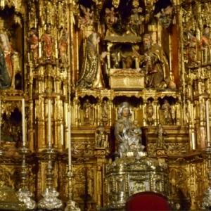 Sevilla cathedrale - retable