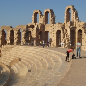 el djem - amphitheatre