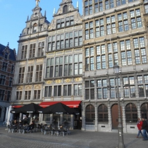 anvers - grote markt - grand place