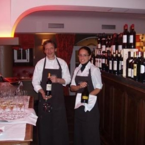 Chateau Urspelt - restaurant Victoria - Michel et Vanessa