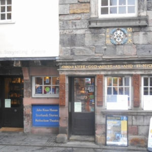 maison de john knox - reformateur eglise ecossaise