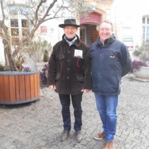 Avec Claude Paulin - président