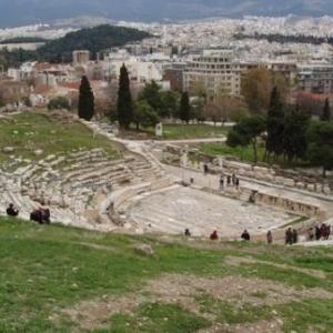 acropole theatre de dionysos