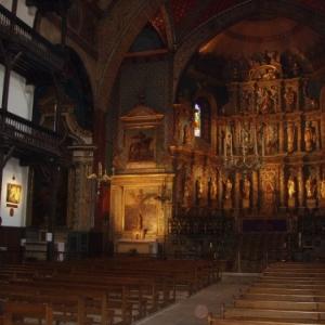saint jean de luz - eglise saint jean baptiste