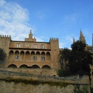 palma de mallorca - palais almudaina