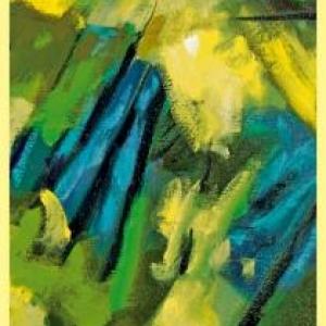 peinture de jean-claude coenen, professeur beaux-arts liege