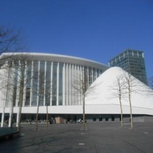 philharmonie - plateau du kirchberg