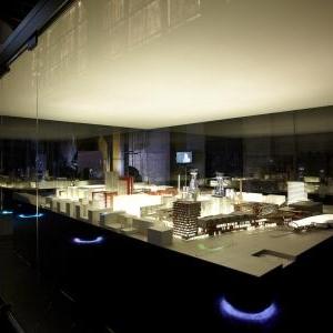 esch sur alzette belval - maquette cité des sciences