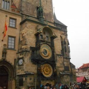 place vieille ville - horloge astronomique