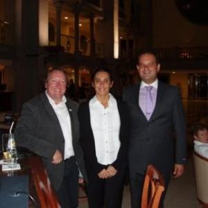 hotel r2 rio calma en compagnie de blanca et le directeur adjoint