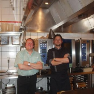 visite des cuisines de l ermitage du chateau de namur avec le chef axel devillers