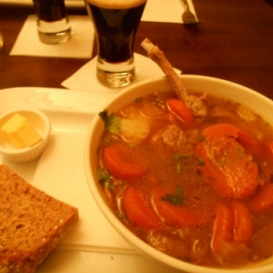 riu plaza - irish stew