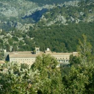 monastere de lluc - serra tramuntana -nord