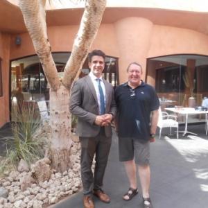 hotel sandos san blas avec le directeur