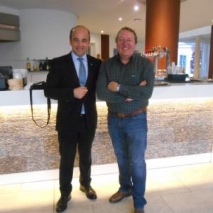 hotel iberostar - playa de palma - avec le directeur