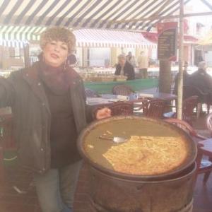N6 Theresa et la succulente socca au Cours Saleya