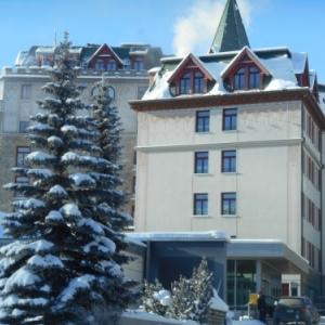 sankt moritz - hotel waldhaus am see