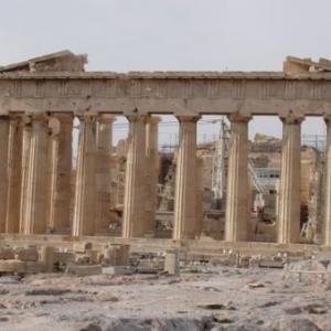 acropole parthenon