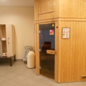 hotel crowne plaza brussels airport - sauna