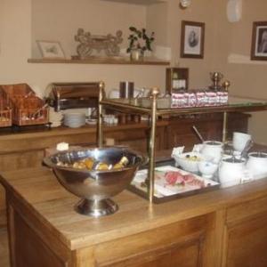 Chateau Urspelt - salle petit dejeuner