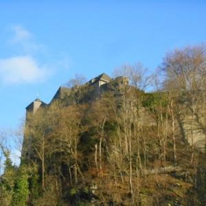 Montjoie, second chateau de monschau
