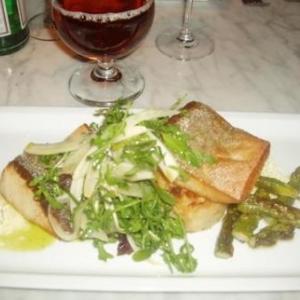anvers - restaurant flamant dining -  succulent plat de seriole -