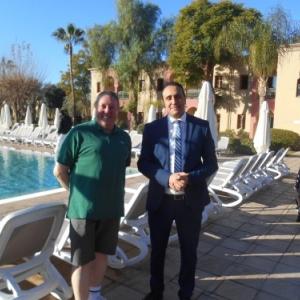 iberostar palmeraie marrakech - avec le directeur
