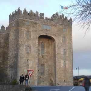 Le château de Bunratty, construit en 1425 par les Normands