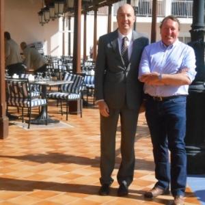 avec directeur hotel riu palace madeira