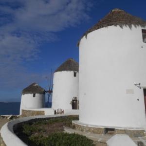 les moulins de mykonos
