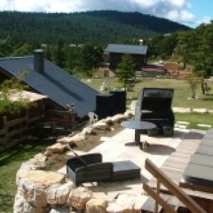 Terrasse du Spa des Délices