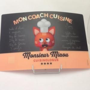 Set de table monsieur Miaou