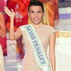 Ronaldo, objet de moqueries en suite de son penalty sur le poteau...