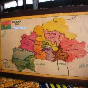 Le Burkina Faso, une enclave en Afrique occidentale