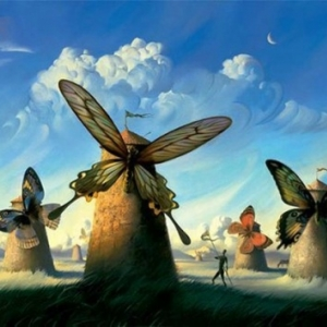 Les moulins de Vladimir Kush