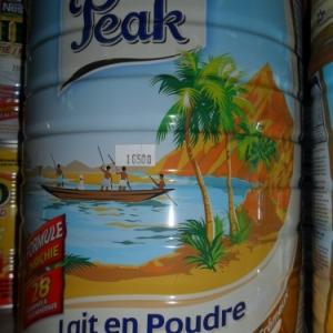 Lait en poudre, importation de Hollande.
