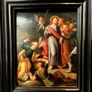 Le baiser de Judas, attrib. atelier de Frans Francken