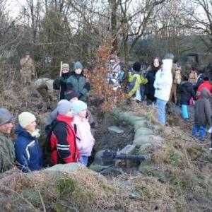 17. reconstitution: children in a fox hole