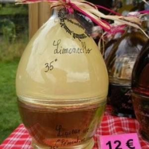 liqueur de limoncello et de clementines