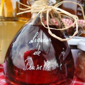 liqueur de prunelles