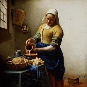 3. Vermeer de Delft. Peinture archi connue par une pub. Un vert inimitable.