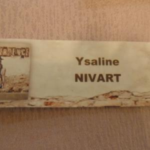 Ysaline Nisart.