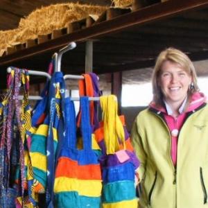 Elisabeth Dupont, administratrice de l'ONG pour le Burkina Faso.