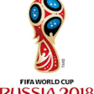 Logo de la coupe du monde 2018 en Russie